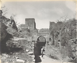 The Upar-Kote Gate from the East [Junagadh]